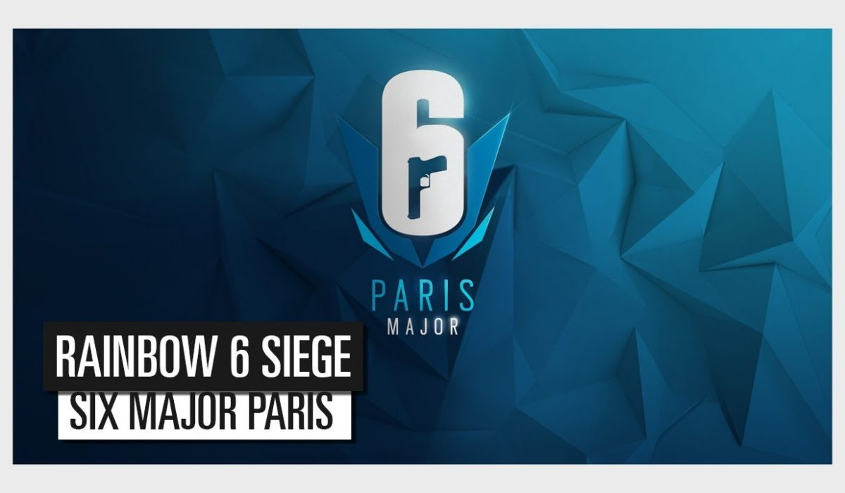 Rainbow Six Siege Six Major Paris