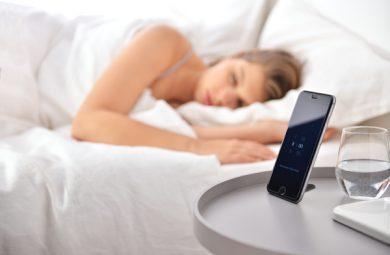 oreiller connecté